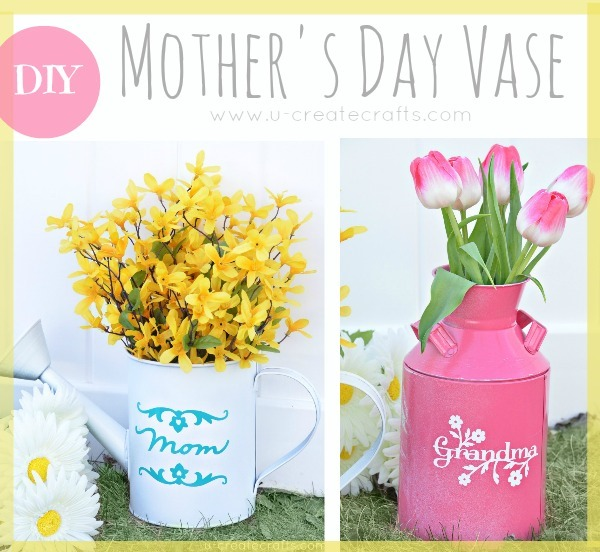 Mothers Day Vase TUtorial