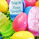 Easter Egg Coupon Printables - great alternative to candy!