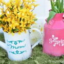 Mothers Day DIY Vases