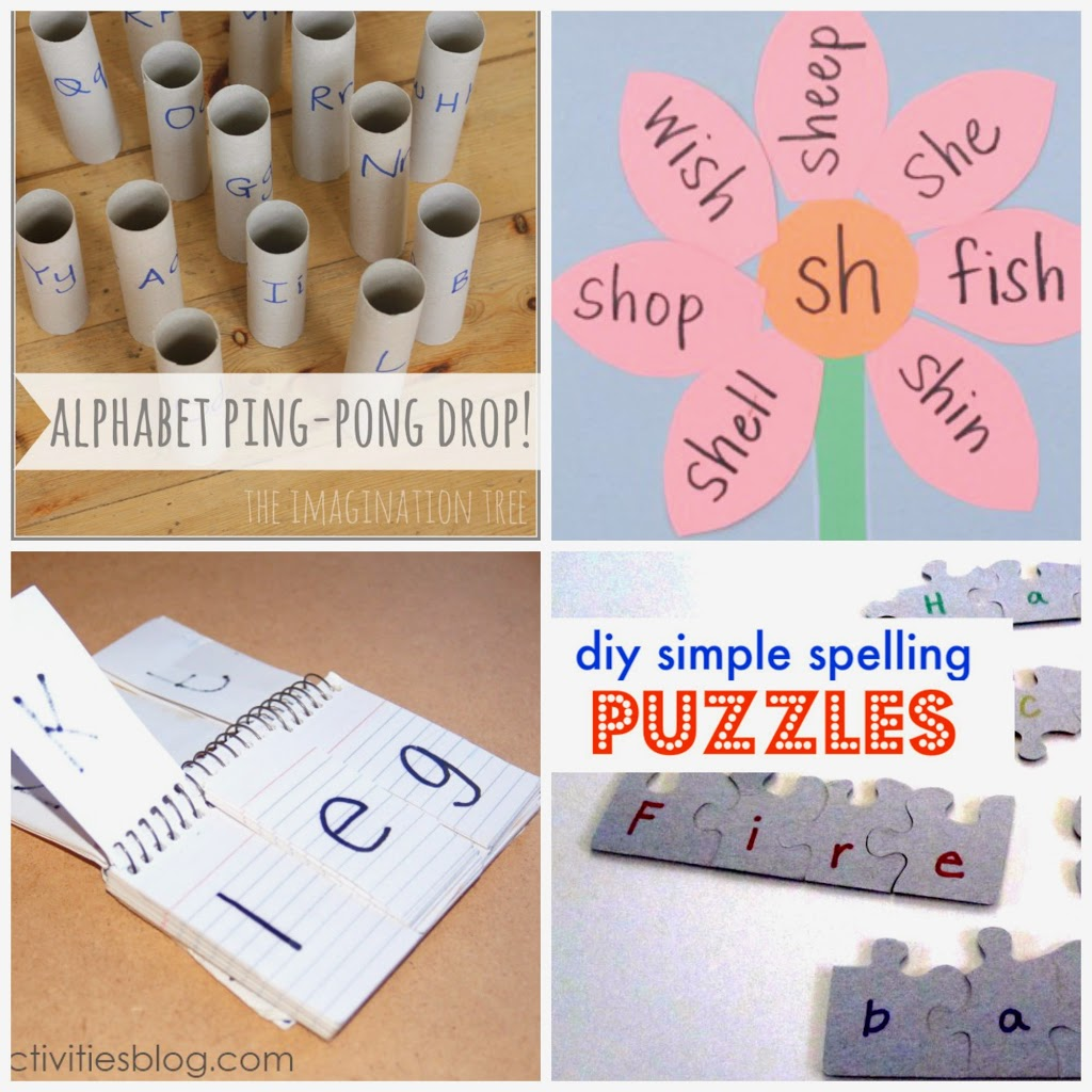 12 Early Education Phonics Activities - U Create