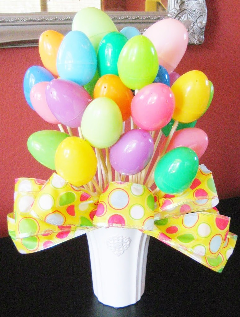 Easter Egg Bouquet Tutorial by Ms Not So Perfect