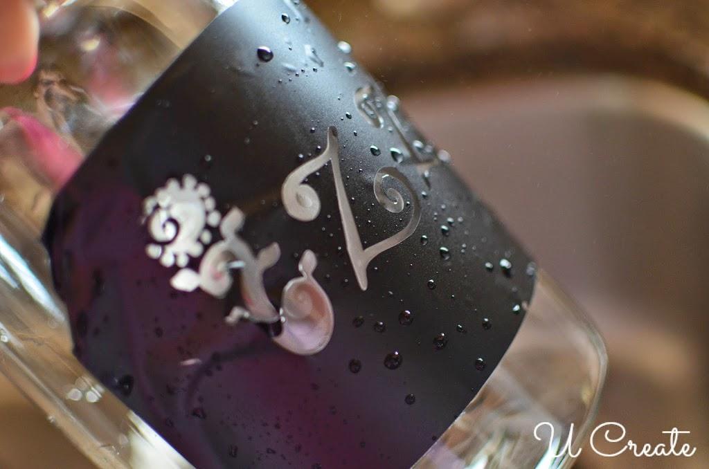 Glass Etching with Vinyl Stencils - U Create