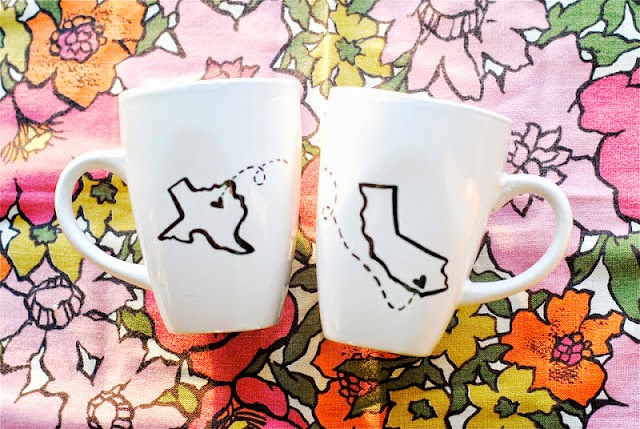 State Sharpie Mugs by Shades of Grey - lots of cool Sharpie crafts!