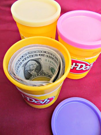 "Play ""DOUGH"" Money Gift by About Family Crafts"