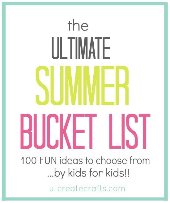 The Ultimate Summer Bucket List by U Create