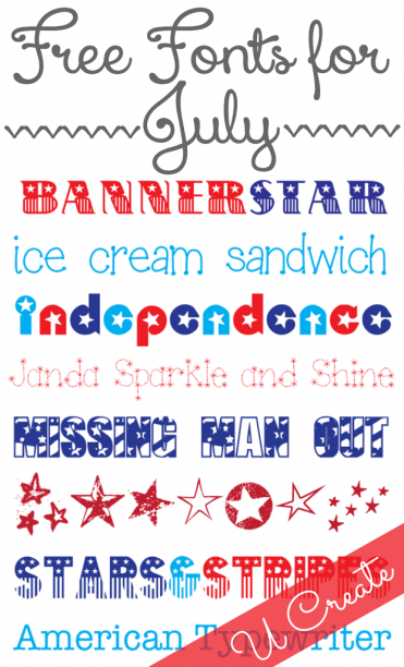 Favorite-Free-Fonts-for-July-at-U-createcrafts.com_