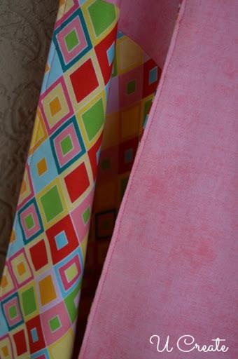 Top stitch blanket