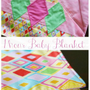 One Hour Bindless Baby Blanket Tutorial