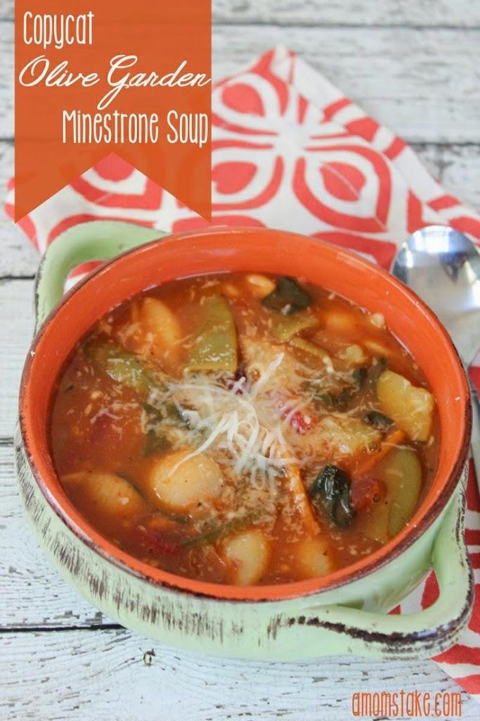 The best copycat soup recipes u create - Minestrone soup olive garden recipe ...