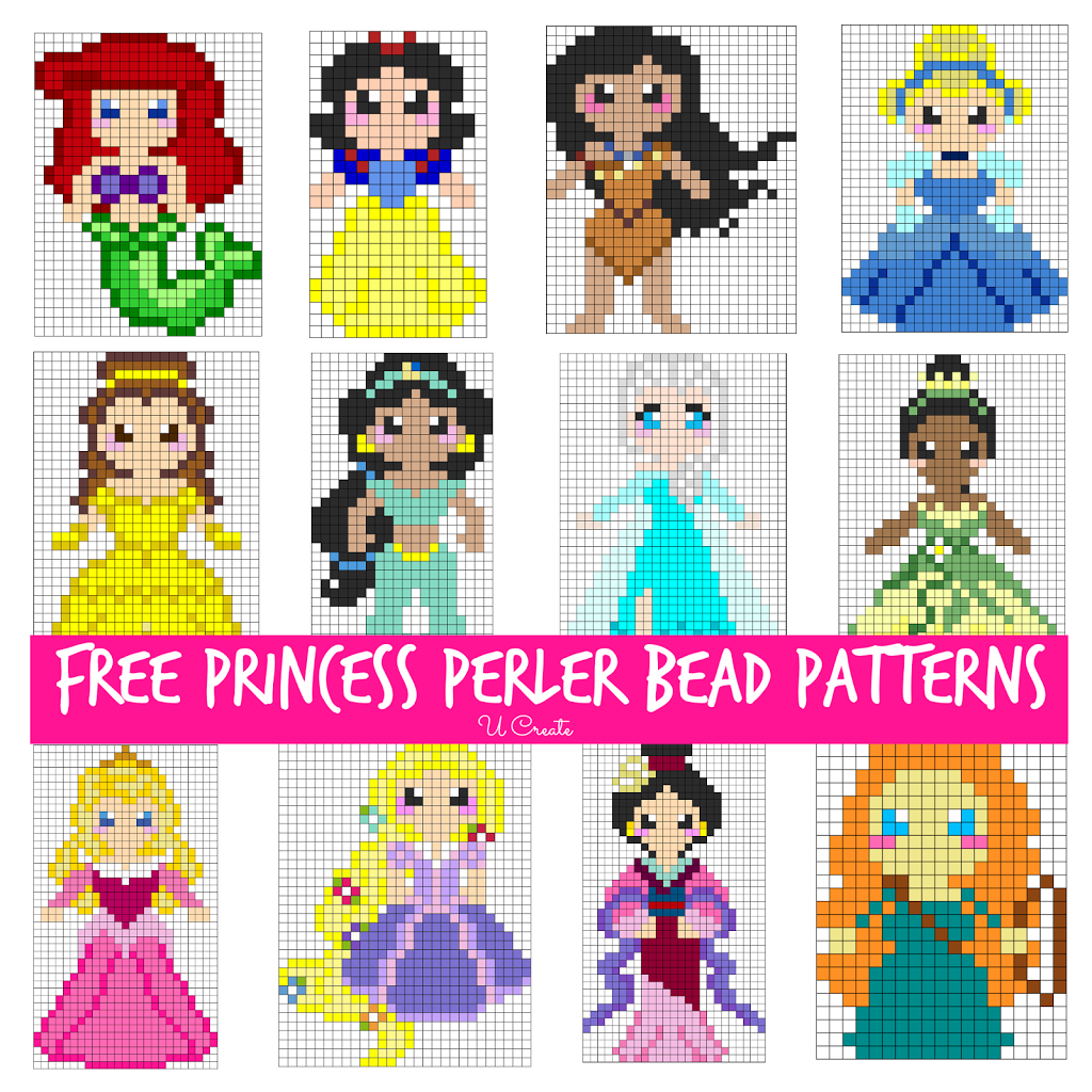 Free Perler Bead Patterns For Kids U Create