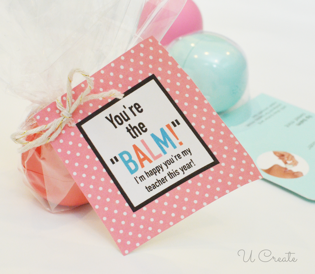 photo about You're the Balm Free Printable called No cost Printables: Youre the BALM - U Develop