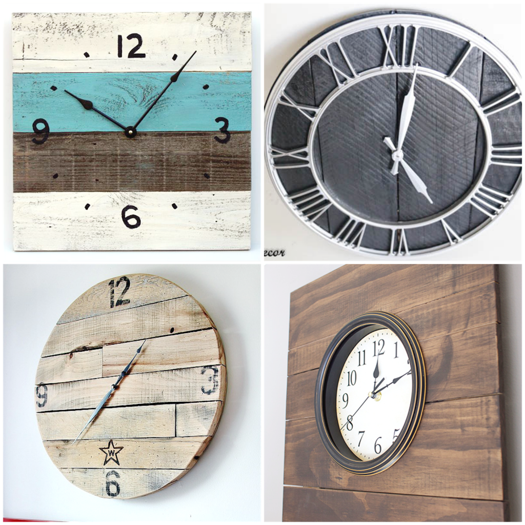 16 Pallet Clock Tutorials