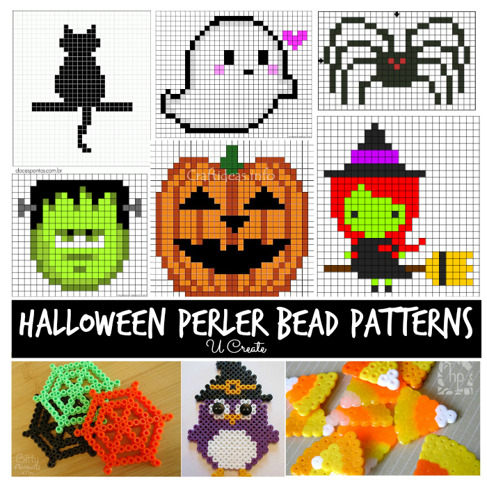 Halloween Perler Bead Patterns - U Create