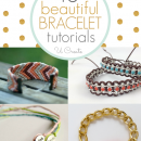 Tons of beautiful bracelet tutorials