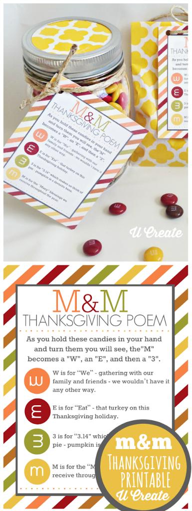 m m thanksgiving poem printable