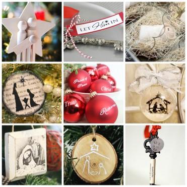 Beautiful Christ-Centered Christmas Ornament Tutorials at U Create
