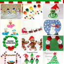 Christmas Fingerprint Crafts by Crafty Morning