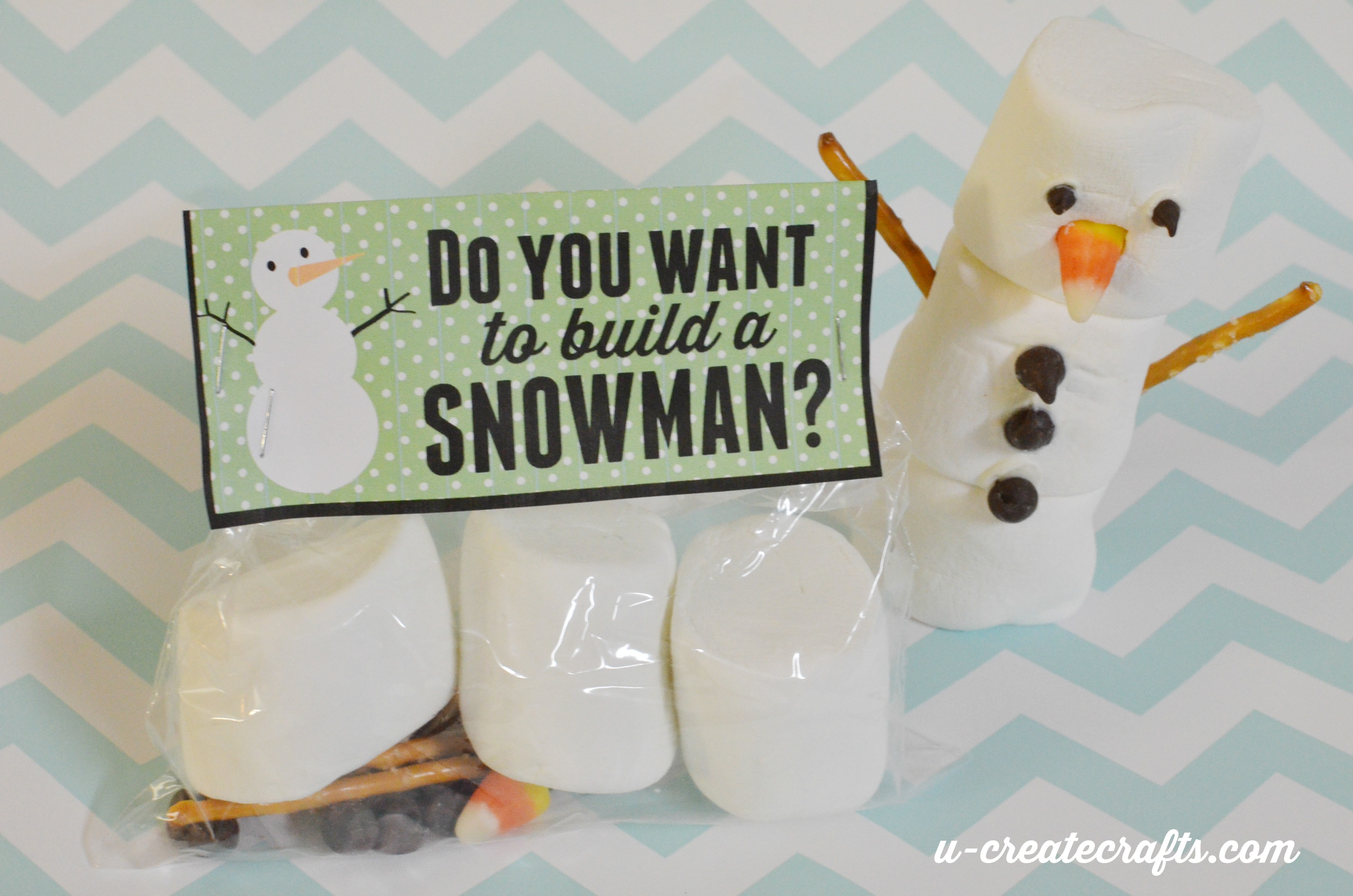 Do You Want to Build a Snowman Kit and Printable by U Create