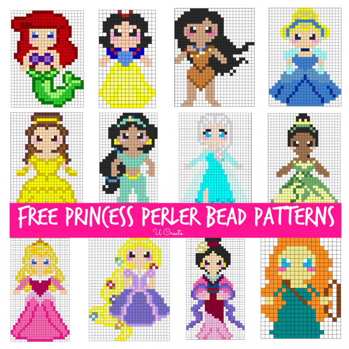 Free Princesss Perler Bead Patterns
