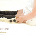 Ruffled Leg Warmers Tutorial by Jo Jo and Eloise
