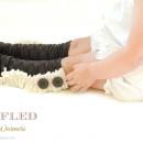 Ruffled Leg Warmers Tutorial by Jo Jo and Eloise