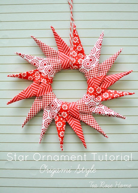 Star Ornament Tutorial by Tea Rose Home