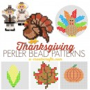 Free Thanksgiving Perler Bead Patterns at U Create