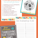 Thanksgiving Scattegories Free Printable Games - u-createcrafts.com