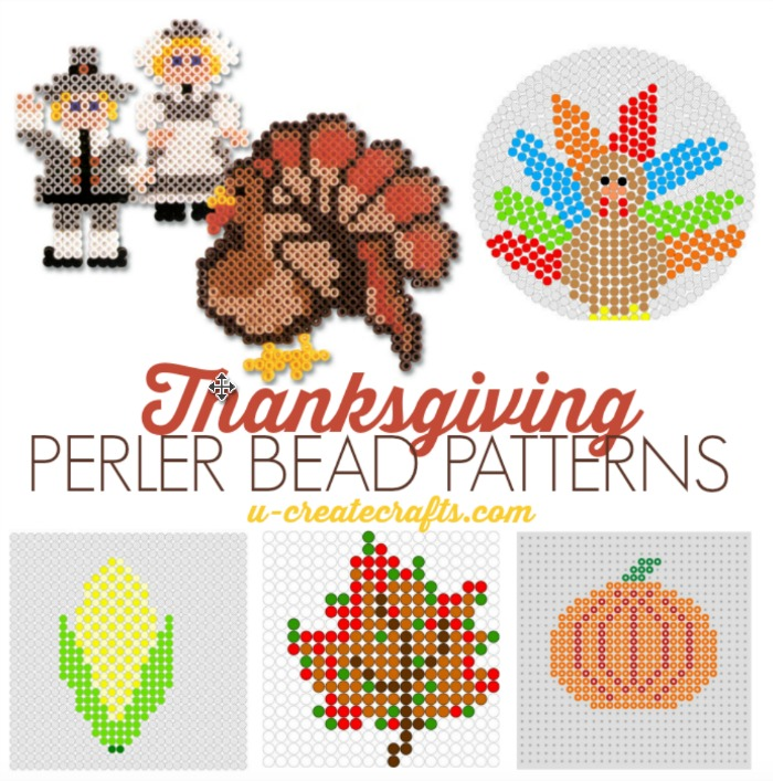 Thanksgiving Perler Bead Patterns