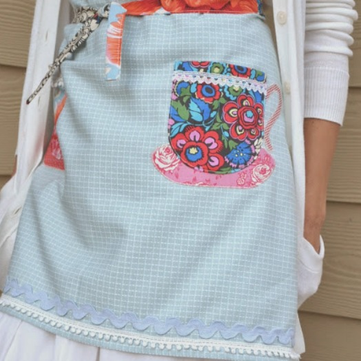 Apron Tutorial - You are My Cup of Tea - U Create