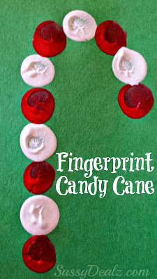 Super simple candy cane craft the kids can do in no time!