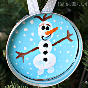 Frozen Olaf Ornament Tutorial by Crafty Morning