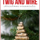 Twig and Wire Ornaments by Make It and Love It