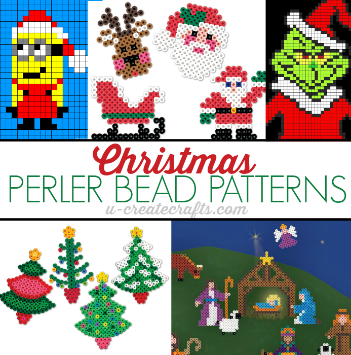 Christmas Perler Bead Patterns by U Create