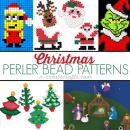 Christmas Perler Bead Patterns at u-createcrafts.com