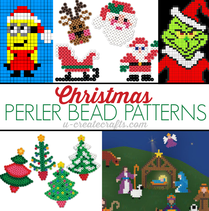 Christmas Hama Bead Designs.Christmas Perler Bead Patterns U Create