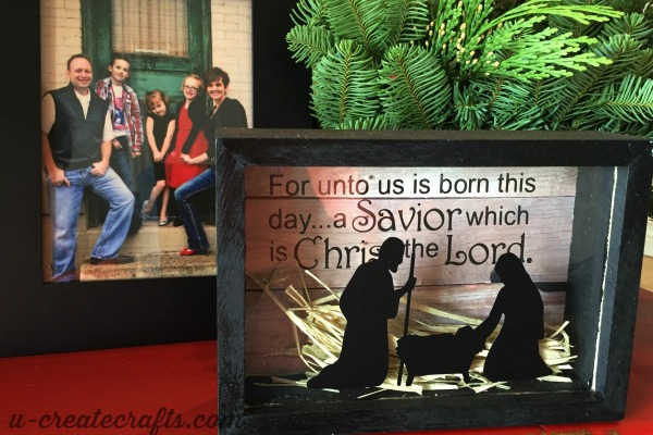 Christmas Shadow Boxes