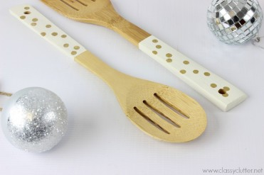 DIY Serving Utensils Set by Classy Clutter