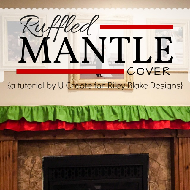 Ruffled Mantle Cover for Rileyblakedesigns.com
