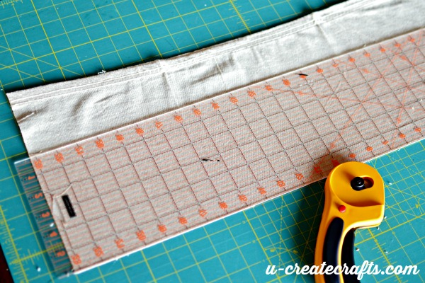 Sewing with dropcloths