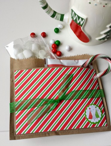 Brown Bag Gift Wrapping Ideas by Ameroonie Designs