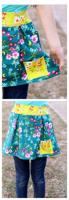 Girl's Apron Tutorial by Sugar Bee Crafts