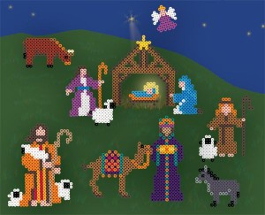 Nativity Perler Bead Patterns