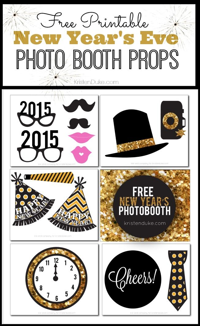 2015 New Years Eve Party Printables by Kiki Comin