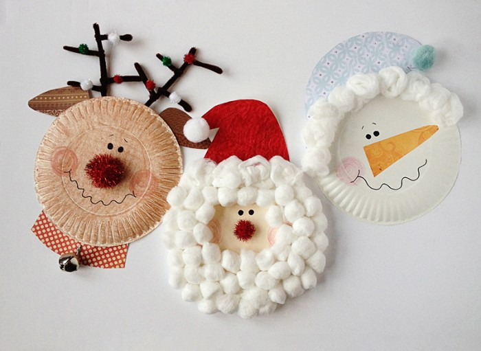 Christmas Paper Plate Crafts by Kix Cereal
