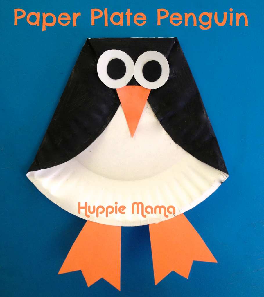 paper-plate-penguin  sc 1 st  U Create Crafts & Paper Plate Christmas Crafts - U Create