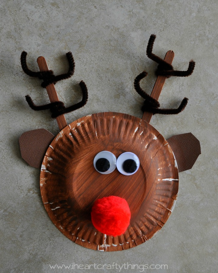 Make A Reindeer From The Letter R Craft