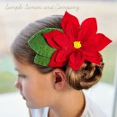 Poinsettia Clip Tutorial by Simple SImon and Co