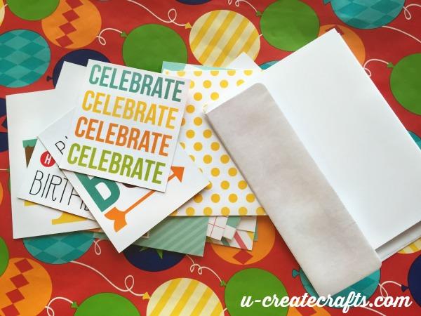 Birthday Card tutorial My Craft Channel