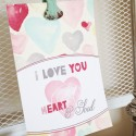 Valentine Decor Tutorial by Jodi Sanford